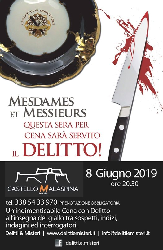 Dinner Murder Mysteries Malaspina Castle
